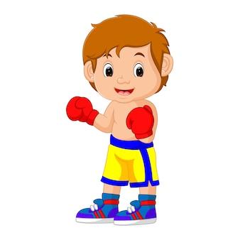 Illustration vectorielle de la boxe