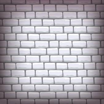 Illustration vectorielle de brique grise
