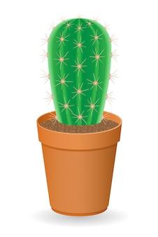 Illustration vectorielle de cactus