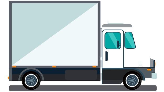 Illustration vectorielle de camion isolé