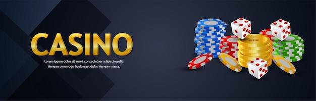 Illustration vectorielle de casino vip luxe