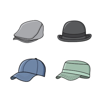 Illustration vectorielle chapeau