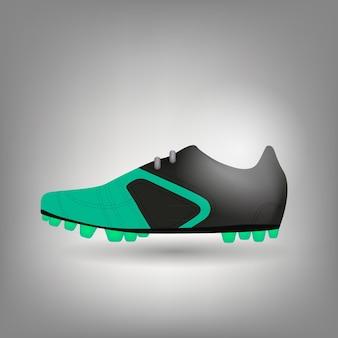 Illustration vectorielle de chaussure de football icône