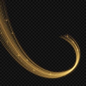 Illustration vectorielle coloré avec des éléments décoratifs dorés sur fond noir. modèles abstraits pour la conception de vacances