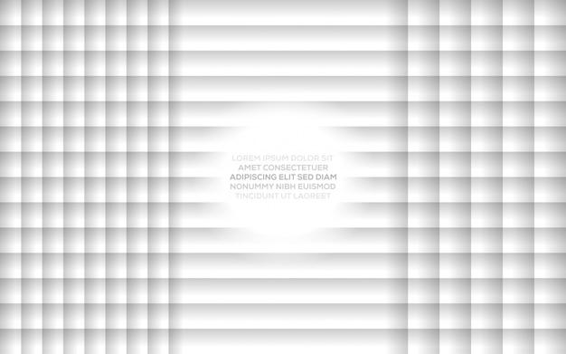 Illustration vectorielle de conception moderne dynamique créative abstraite créative avec fond abstrait blanc gris