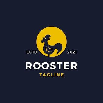 Illustration vectorielle de coq logo design