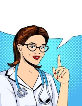 Illustration vectorielle couleur dans un style bande dessinée pop art.