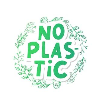 Illustration vectorielle de déchets en plastique