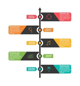 Illustration vectorielle de diagramme entreprise et éducation