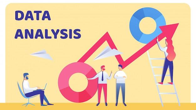Illustration vectorielle équipe professionnelle de comptabilité