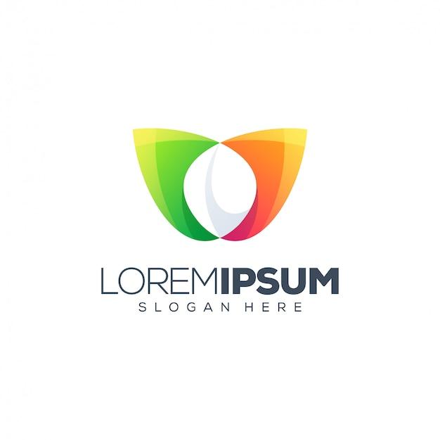 Illustration vectorielle de feuille logo