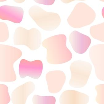 Illustration vectorielle de fond abstrait sans soudure de couleur vive