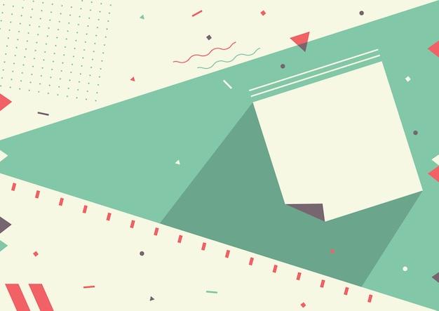 Illustration vectorielle de fond abstrait