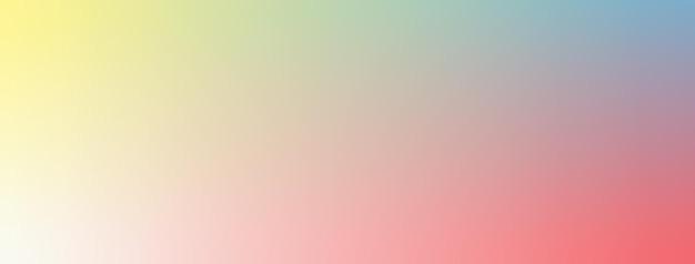 Illustration vectorielle de fond d'écran dégradé ivoire, rouge, jaune, bleu bébé.