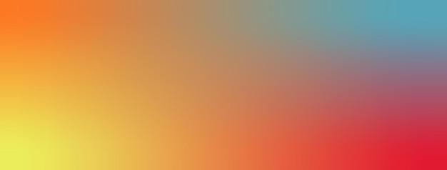 Illustration vectorielle de fond d'écran dégradé jaune, écarlate, aigue-marine, orange