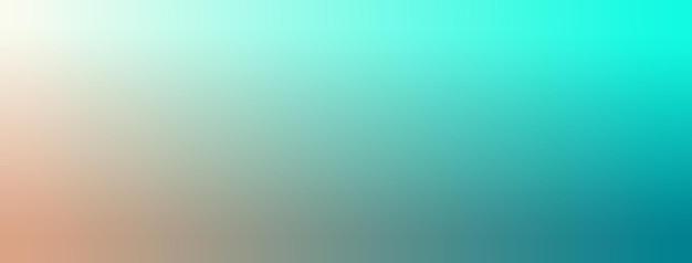 Illustration vectorielle de fond d'écran dégradé marron, crème, vert sarcelle, aigue-marine