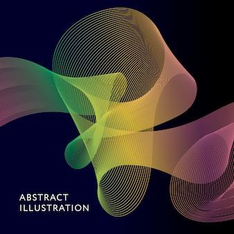 Illustration vectorielle géométrique fond forme vecteur