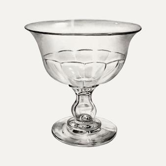 Illustration vectorielle de gobelet vintage, remixée à partir de l'œuvre d'art de john tarantino