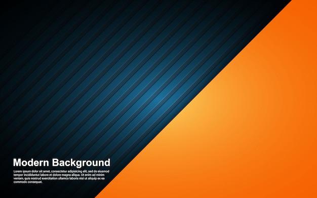 Illustration vectorielle graphique de couleur de dégradés abstrait noir et hipster
