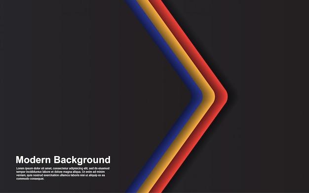 Illustration vectorielle graphique de couleur de dégradés hipster abstrait