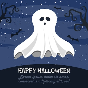 Illustration vectorielle d'halloween