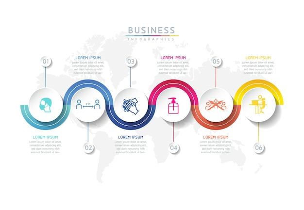 Illustration vectorielle infographie modèle de conception présentation d'entreprise3 options ou étapes