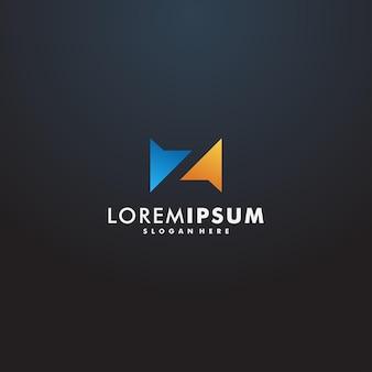 Illustration vectorielle de lettre z logo design