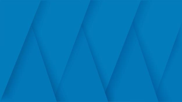 Illustration vectorielle de lignes bleues modernes fond