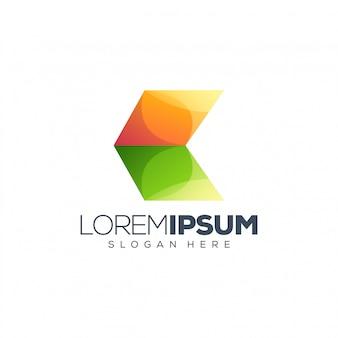 Illustration vectorielle de logo coloré design