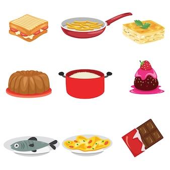 Illustration vectorielle de nourriture