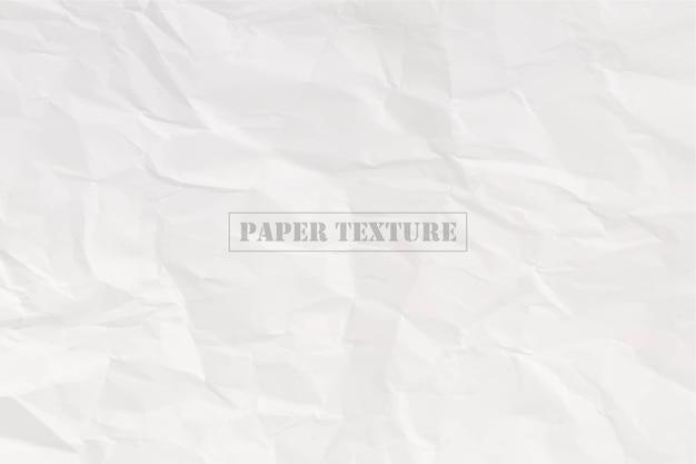 Illustration vectorielle de papier froissé texture