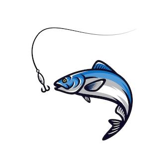 Illustration vectorielle de poisson vector mascotte