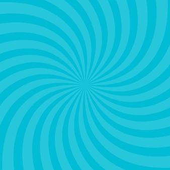 Illustration vectorielle pour la conception de tourbillons. carré de tourbillon en spirale en étoile vortex. rayons de rotation d'hélice. rayures évolutives psychédéliques convergentes. faisceaux de lumière du soleil amusants.