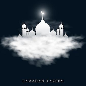 Illustration vectorielle pour les vacances du ramadan kareem.