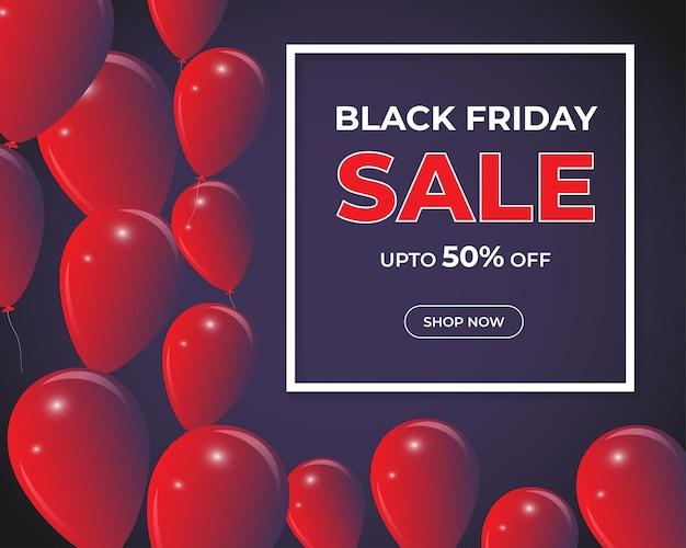Illustration vectorielle pour la vente du vendredi noir