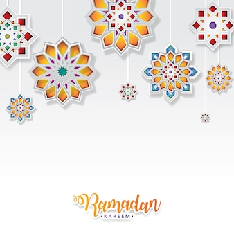 Illustration vectorielle de ramadan kareem