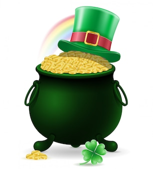 Illustration vectorielle de saint patrick