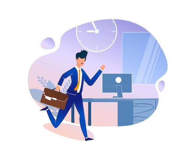 Illustration vectorielle de stratégie de gestion du temps.