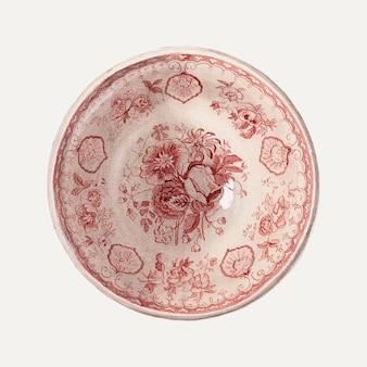 Illustration vectorielle de tasse vintage, remixée de l'œuvre de j. howard iams