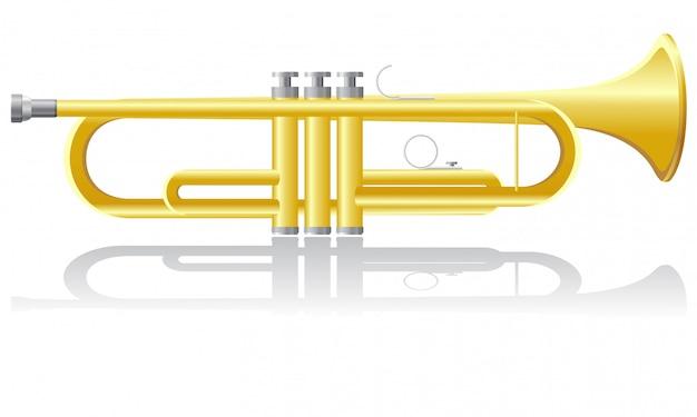 Illustration vectorielle trompette