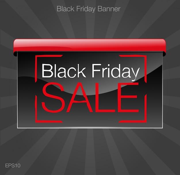 Illustration vectorielle de vendredi noir vente style grunge.