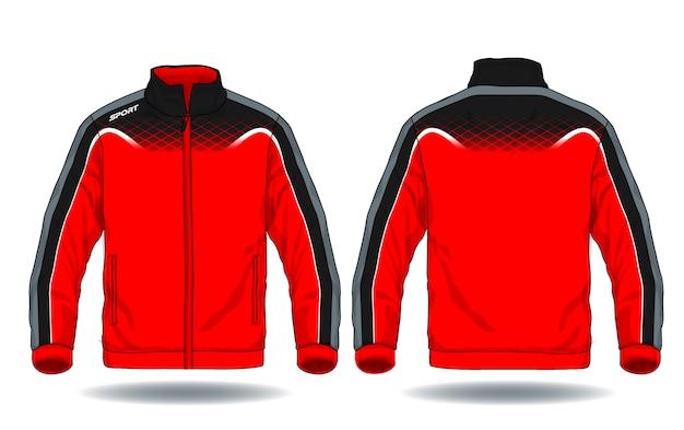 Illustration vectorielle de la veste de sport.