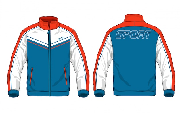 Illustration de veste de sport.