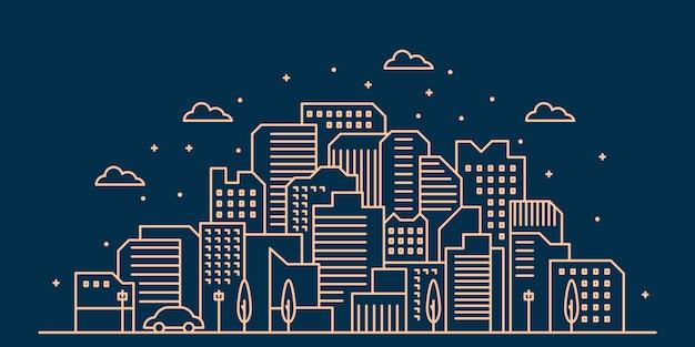 Illustration de la ville
