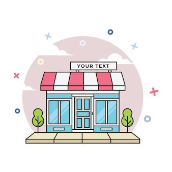 Illustration de la vitrine en ligne