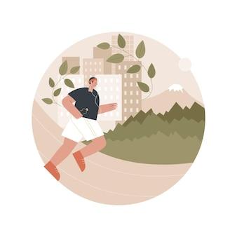 Illustration de la voie verte écologique