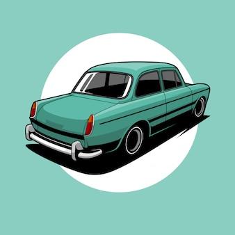 Illustration de voiture classique