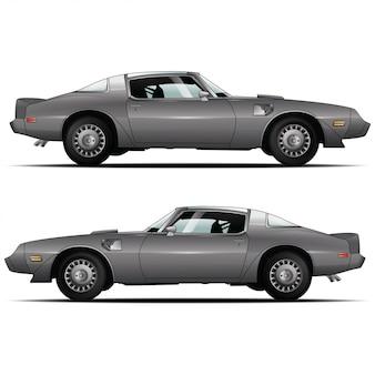 Illustration de voiture de muscle