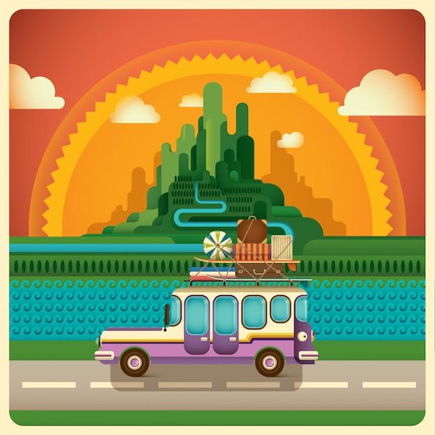 Illustration de voyage