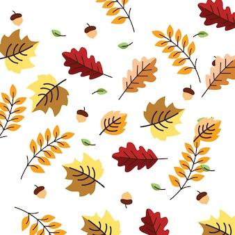 Illustrations d'automne mignonnes